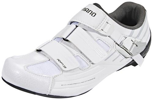 Blanc Chaussures Shimano Avec Des Hommes De Fermeture Velcro 21jyg4n